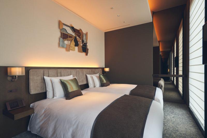 「ホテル ザ セレスティン東京芝」とは異なる、銀座ならではの個性。