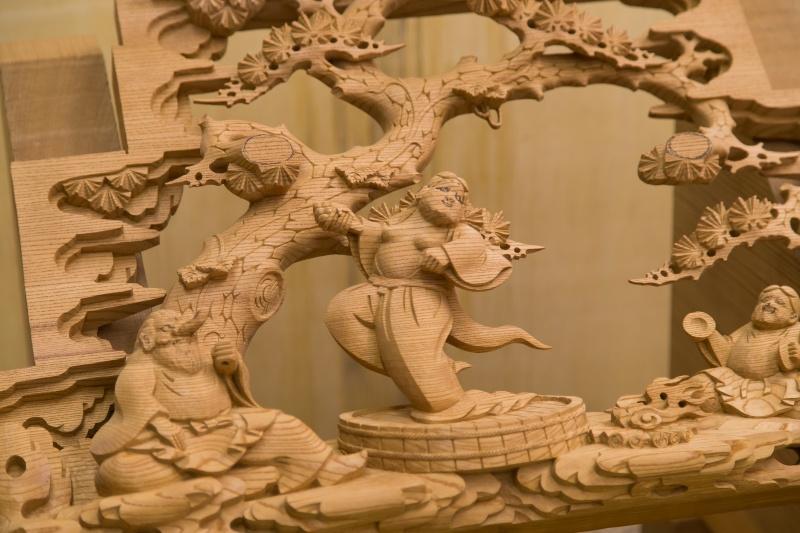"""だんじり彫刻と""""ミズナラ""""に広がる、奥深き世界。"""
