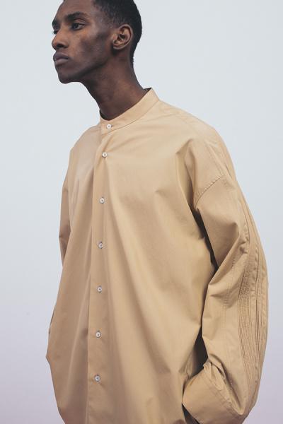 「ジル・サンダー」のマルチタック入りのシャツ