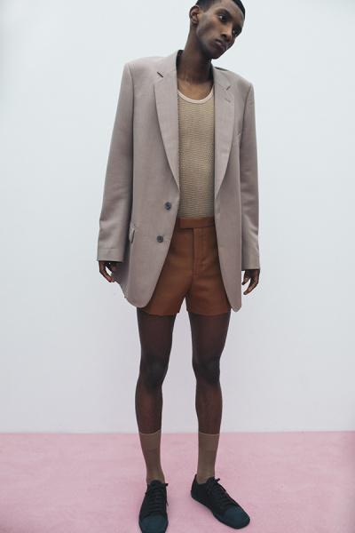 「ドリス ヴァン ノッテン」のビッグなテーラードジャケット