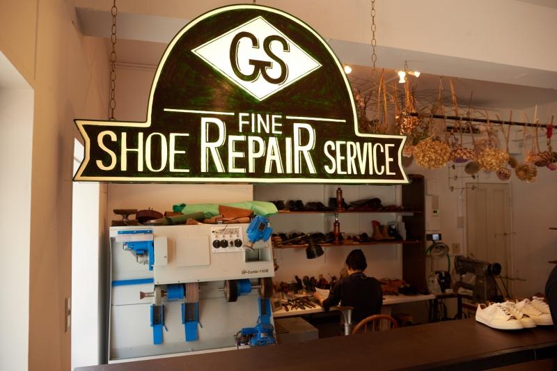 東京・六本木の路地裏に誕生した靴リペア店。