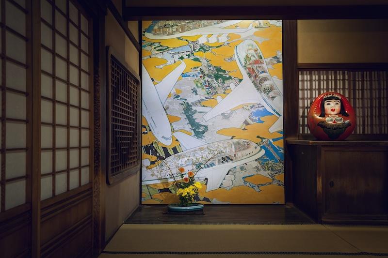 現代アートが彩る道後温泉で、山口晃の手がけた客室に泊まりませんか?