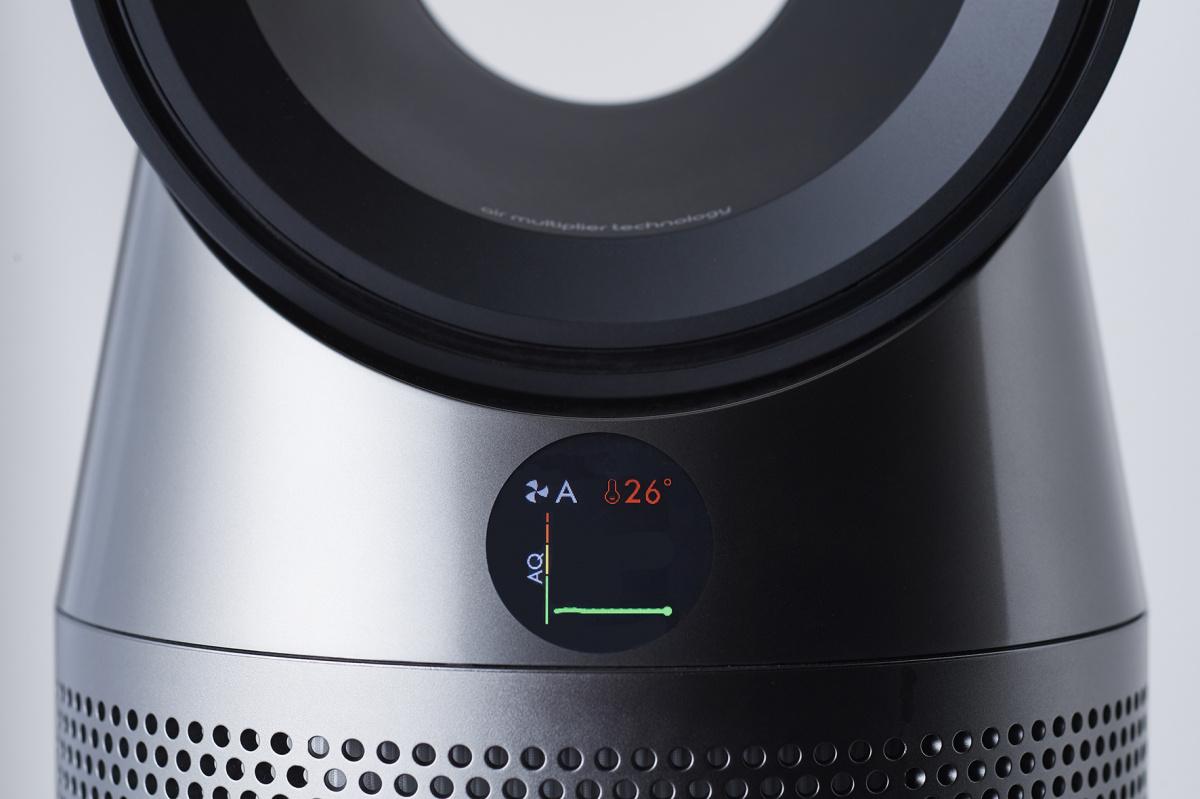 モニターで室内の空気の状態を把握しながら、圧倒的な空気清浄を実現。