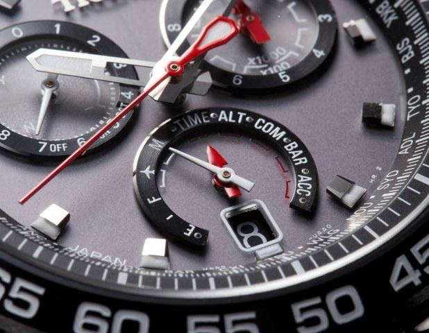 自社一貫生産だから可能な、 ハイテク系アナログ時計。