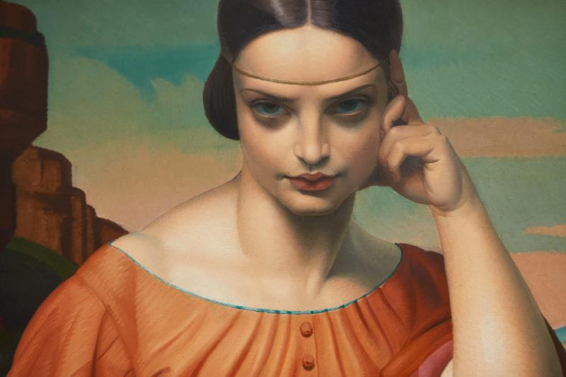 イタリアの古典を学んだフランスの画家たち。