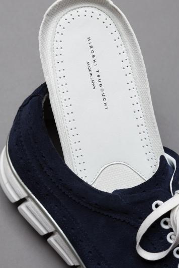 「HIROSHI TSUBOUCHI」のポップなハイブリッドシューズは、走れる革靴
