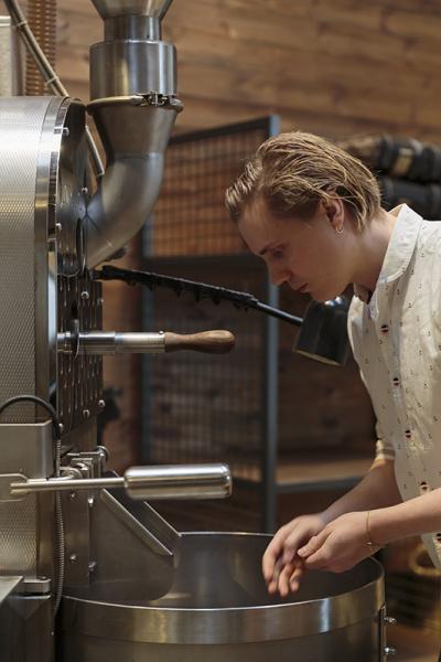 """「ジェントリーな味わい」と評した、NZ発ロースタリーの""""焙煎王子""""。"""