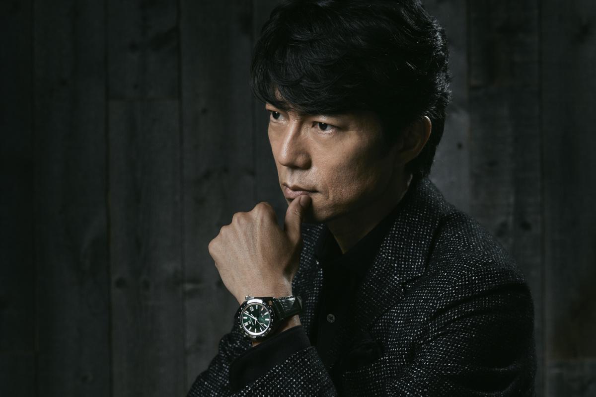 """仲村トオルの心に響いた、「グランドセイコー」の腕時計。特別な一本は""""必然""""から生まれた——。"""