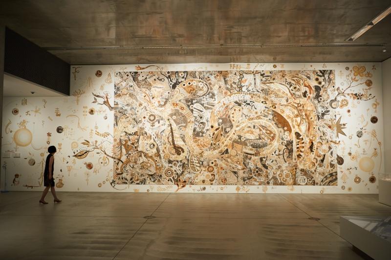 展示環境を考慮し、再構築された作品の魅力。