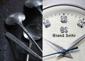 【グランドセイコー、美しき「時」を伝える腕時計。】Vol.3 長谷川まみの金工と重なる、繊細な手仕事の技。