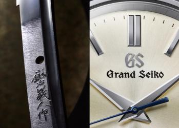 【グランドセイコー、美しき「時」を伝える腕時計。】Vol.4 吉原義人の刀剣と共鳴する、精緻なモノづくり。