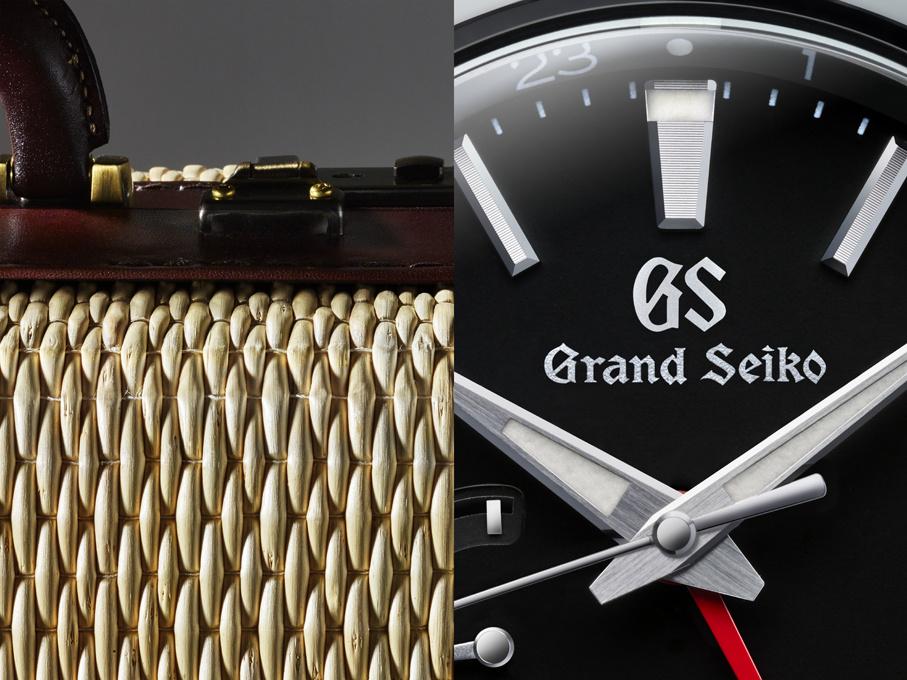 【グランドセイコー、美しき「時」を伝える腕時計。】Vol.5 寺内卓己の柳行李と連なる、日本独自の機能美。