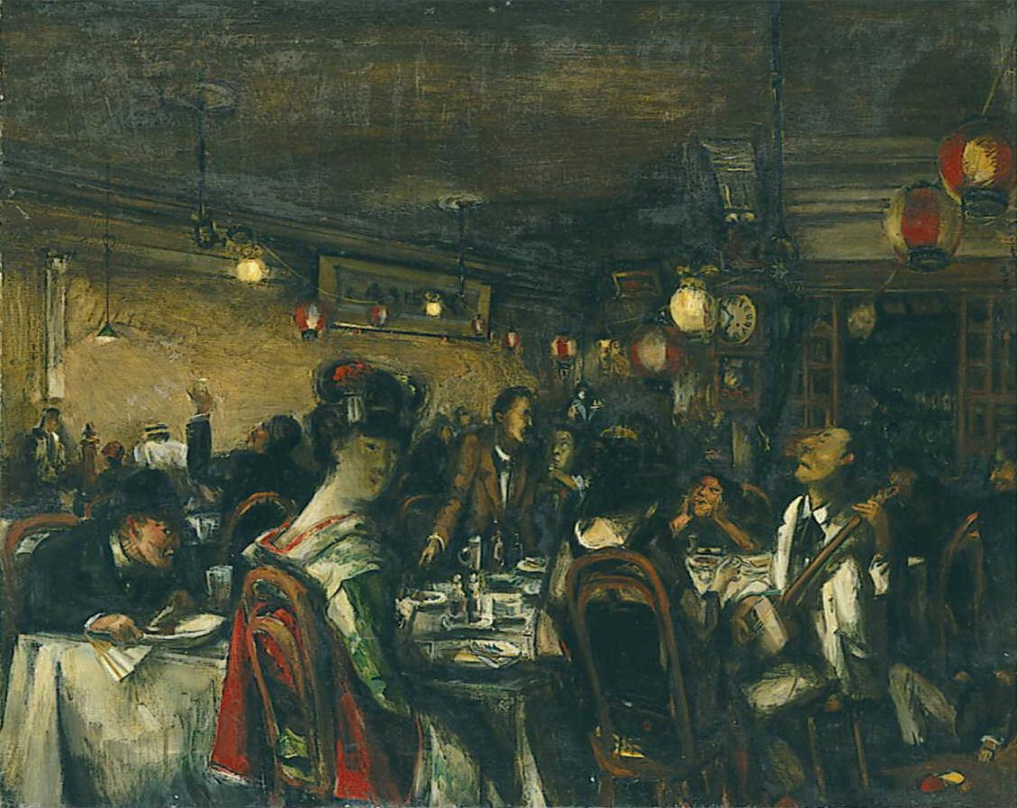 パリの芸術家を気取った「パンの会」