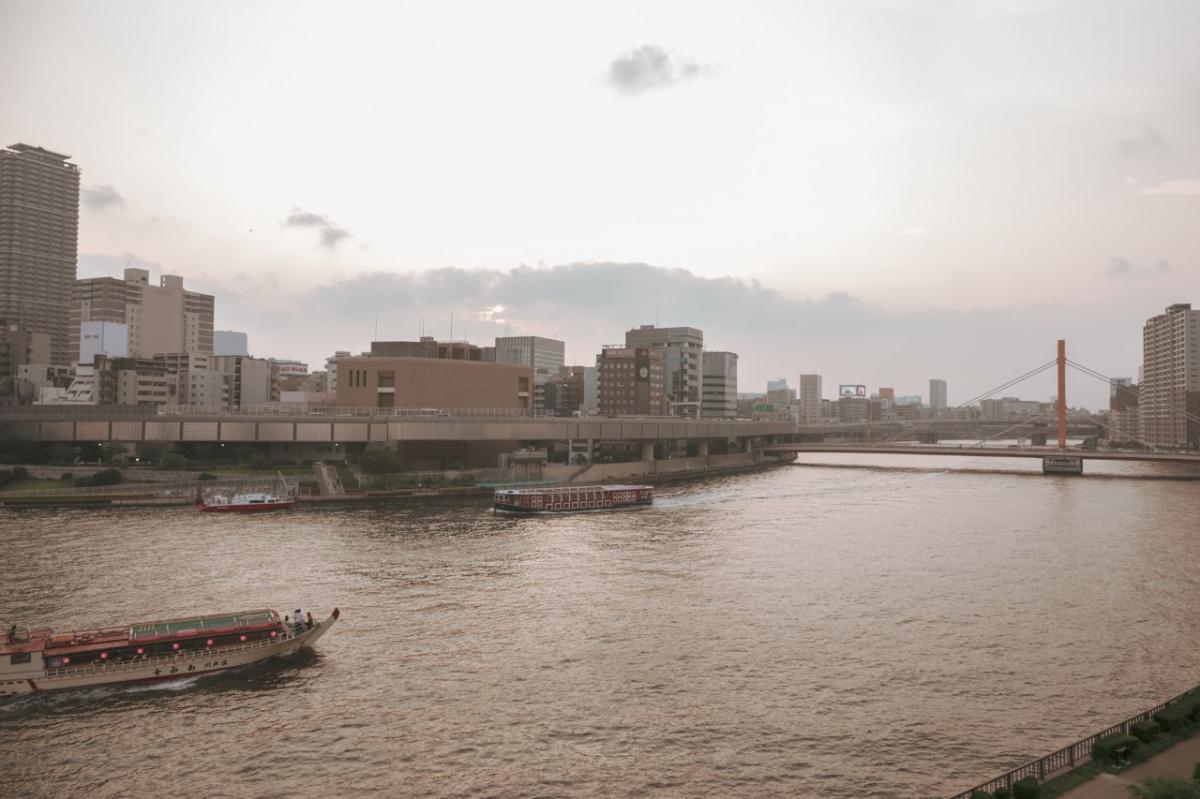 この50年で変化した川辺での暮らし。