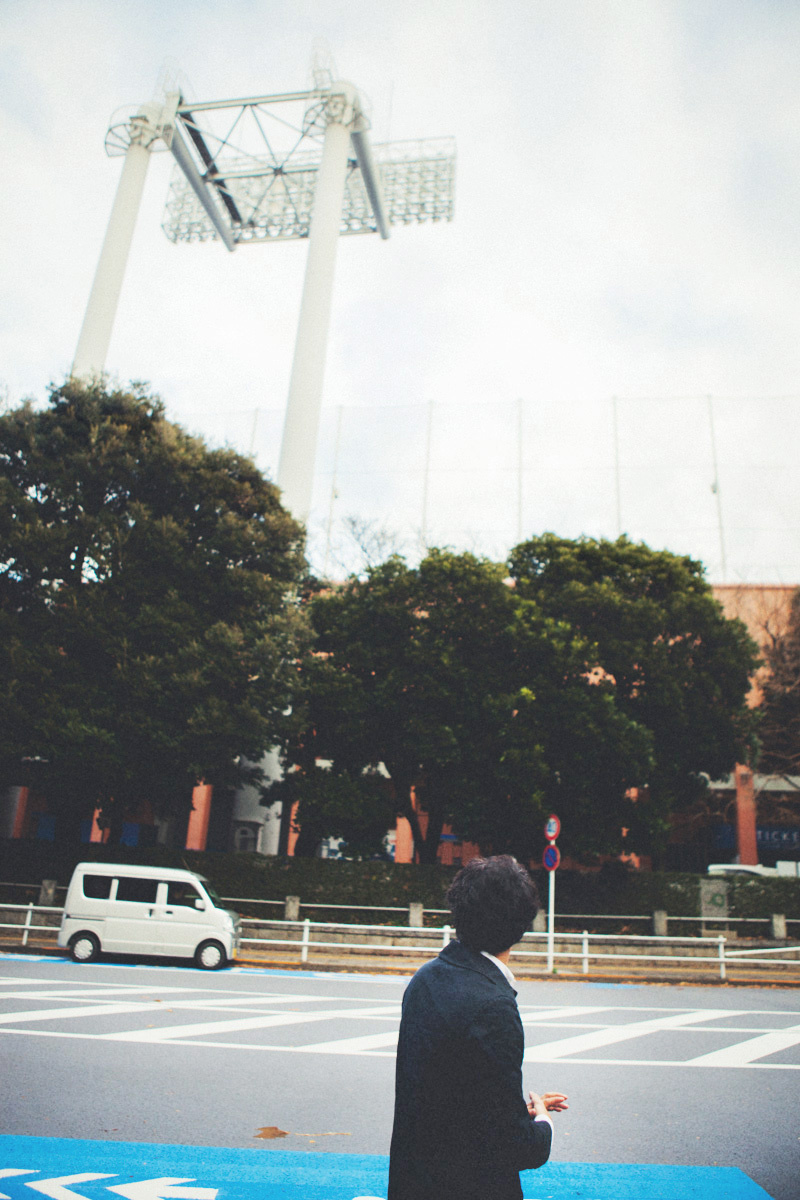 銀杏並木を4列で設計した、都市計画家の試み。
