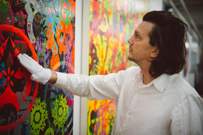 創作哲学が共鳴した、コニャック×アートの競演。