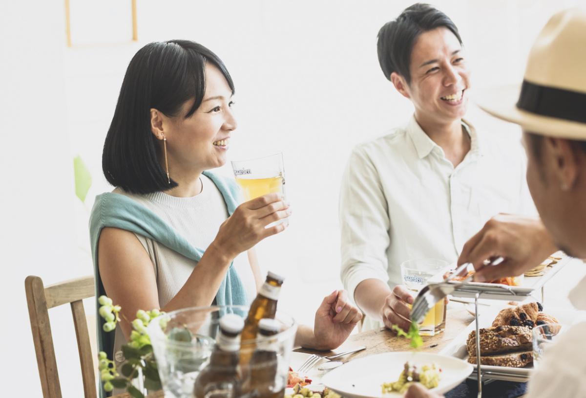料理とのペアリングで、ビールの可能性がもっと広がる。