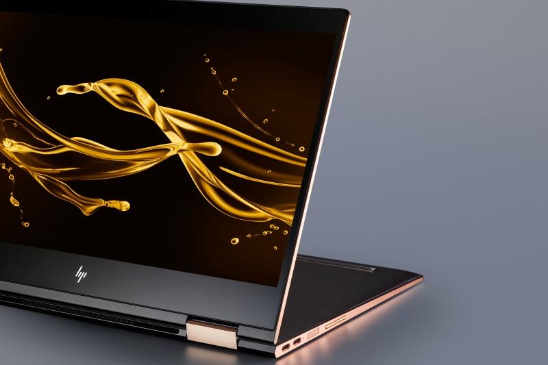 新生HPのデザインを象徴する、コンセプトモデル「HP Spectre x360」