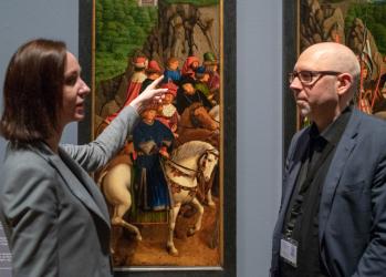 """""""視覚の革命""""を起こした、ヤン・ファン・エイクの名画を訪ねてベルギーへ。【中編】"""