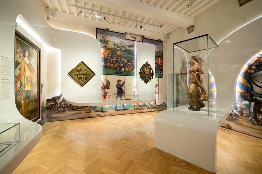 多大な影響を受けたハンス・メムリンクの美術館へ。