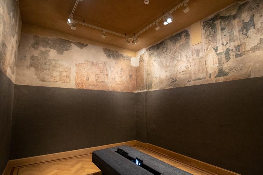 同時代の史料を展示する、メッヘレンの博物館。