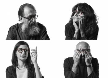 """ミケーレ・デ・ルッキがデザインしたジンズの新作は、""""なりたい自分を演出してくれる眼鏡""""。"""