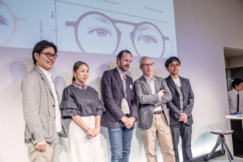 トークイベントでは、建築家の永山祐子さんと対談。