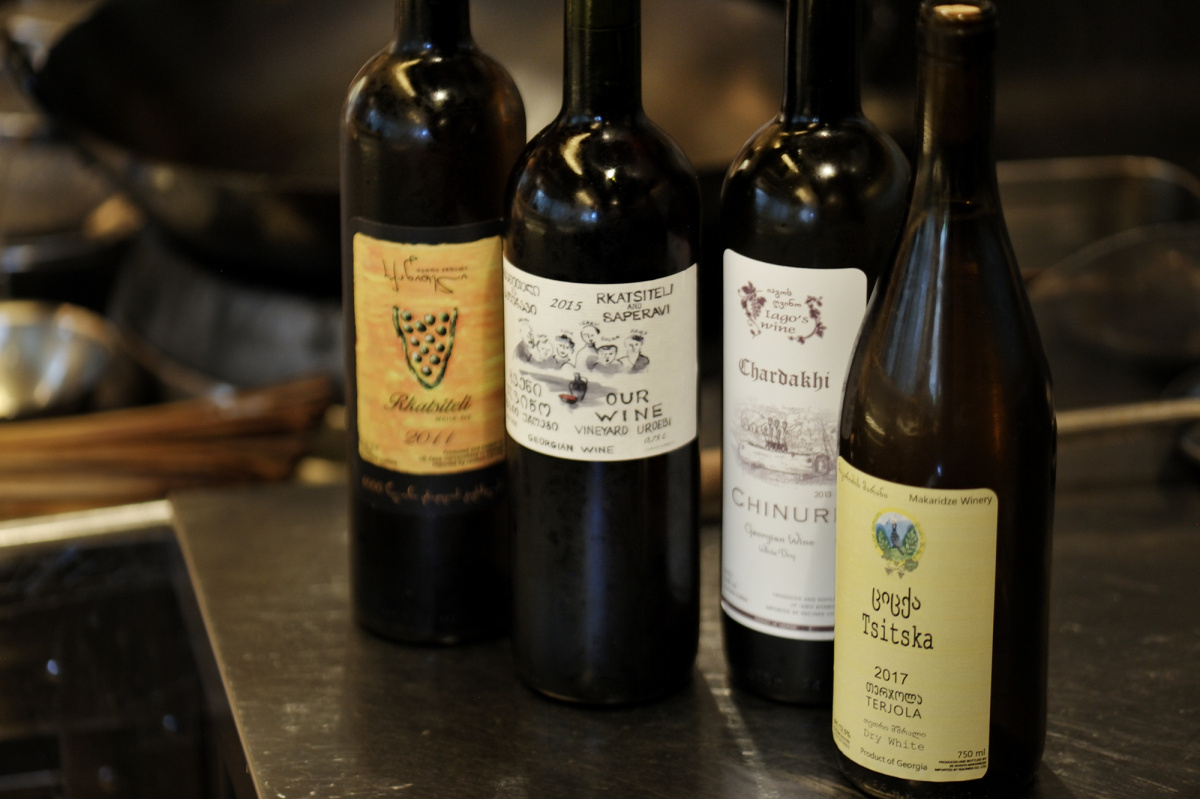 ジョージアワインと中華の鮮やかな出合い。