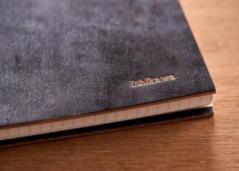 Pen×カキモリ 謹製、ブライドルレザーのノートができました。
