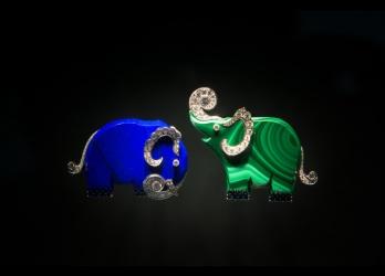 ヴァン クリーフ&アーペル、輝き躍動する動物たち。