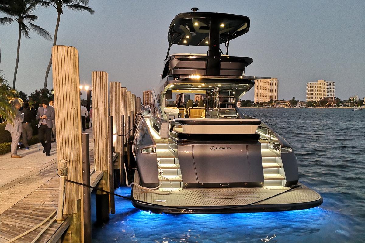 【東京車日記 番外編】マイアミでヨットと言えば覆面捜査!? レクサス初のラグジュアリーヨット、LY650に潜入した。