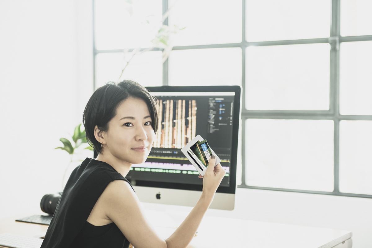 気鋭の映像作家・菊田あいりさんのデジタルライフに密着、プロが認めた「