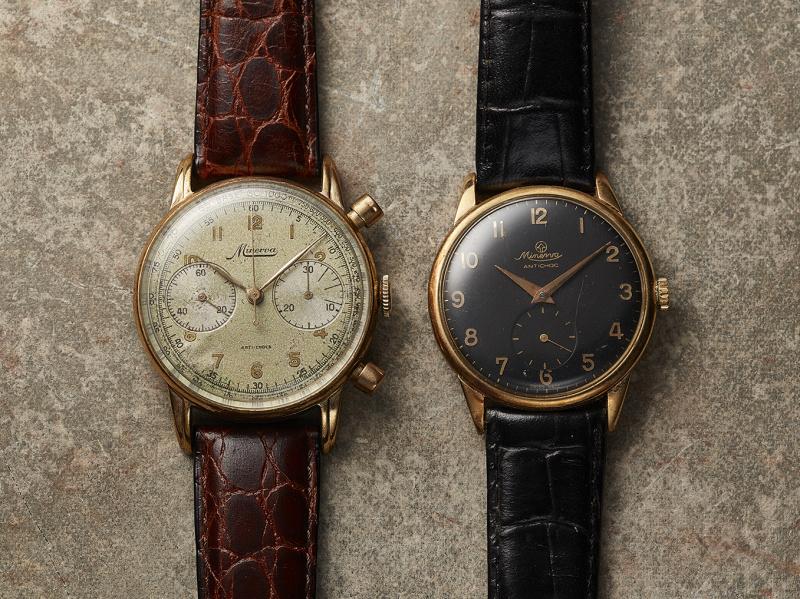 腕時計「モンブラン 1858」に極上のヴィンテージ感をもたらした、 ミネルバの伝統とモンブランの技術。