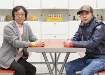 NIGO®さんとG-SHOCKの生みの親である伊部菊雄さんが、35周年記念モデルで奇跡の共演!