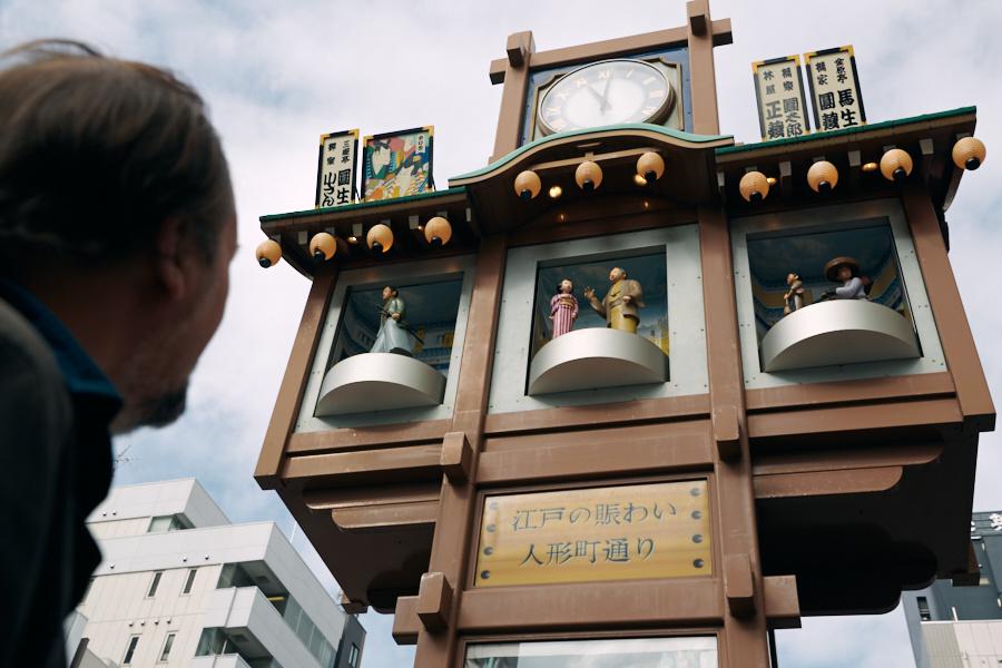 芝居小屋があった、歓楽街の情趣を残す街並み。