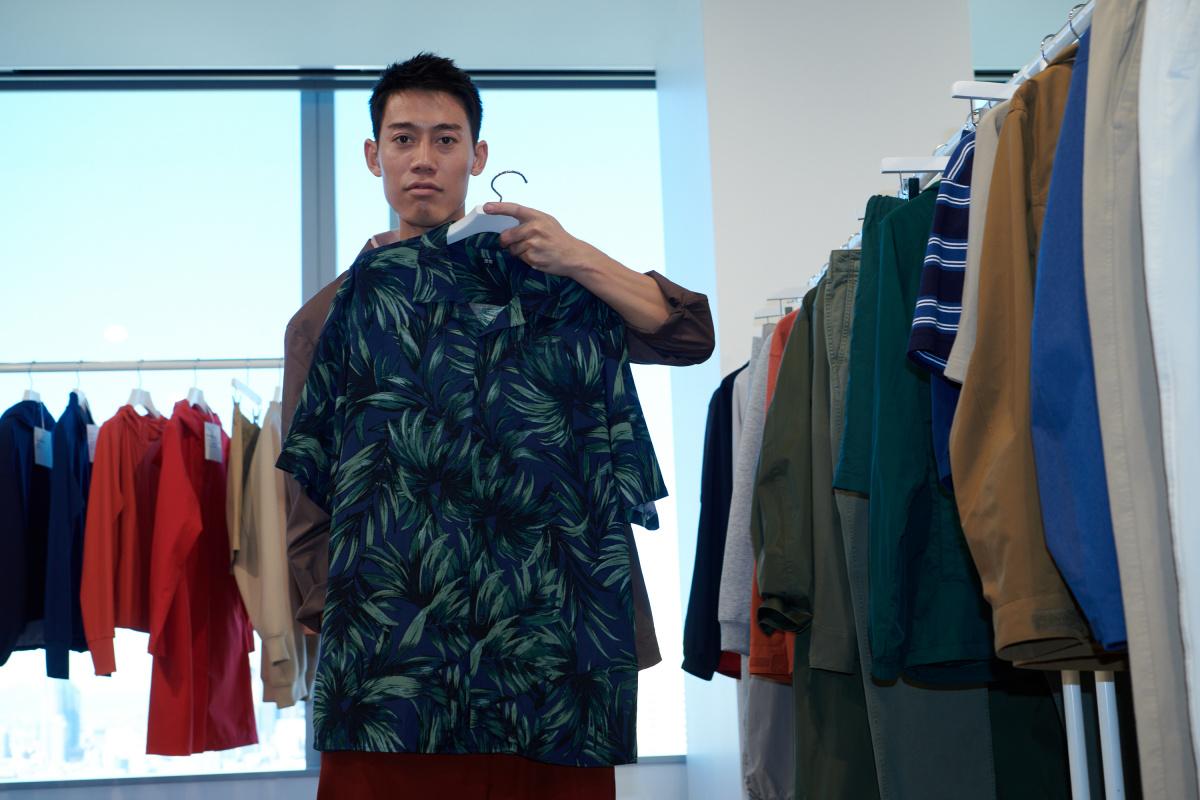 モードな雰囲気を纏った、錦織さんの新たな一面。