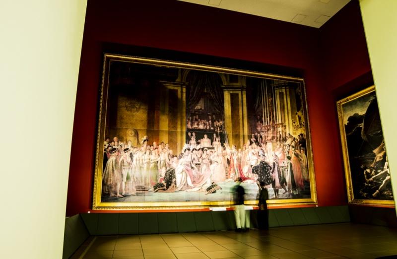 現地を再現した展示方法で、世界遺産をリアルに体感する。
