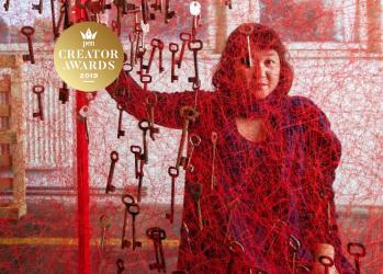アーティスト・塩田千春が、延べ66万人が訪れた自身の個展とこれからを動画で語る。【Penクリエイター・アワード2019】
