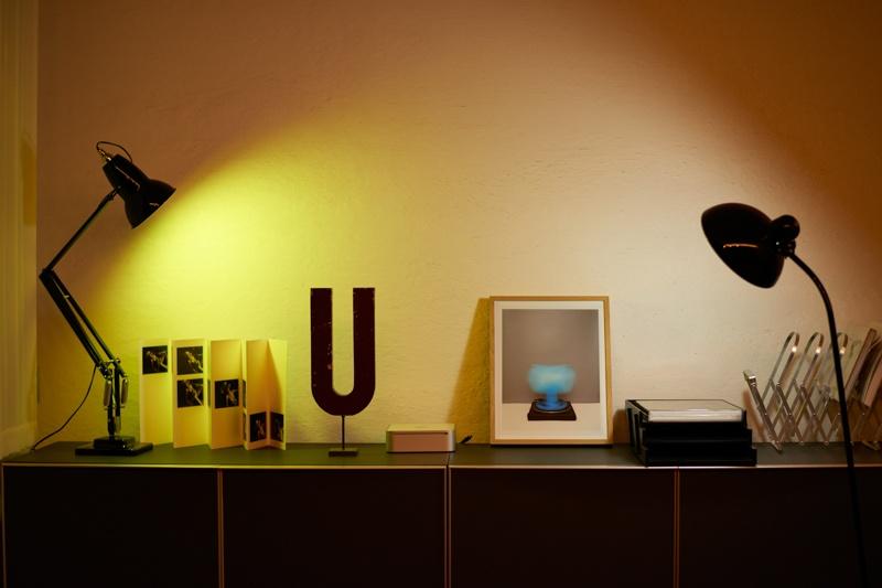 部屋のディスプレイの色をチェンジ