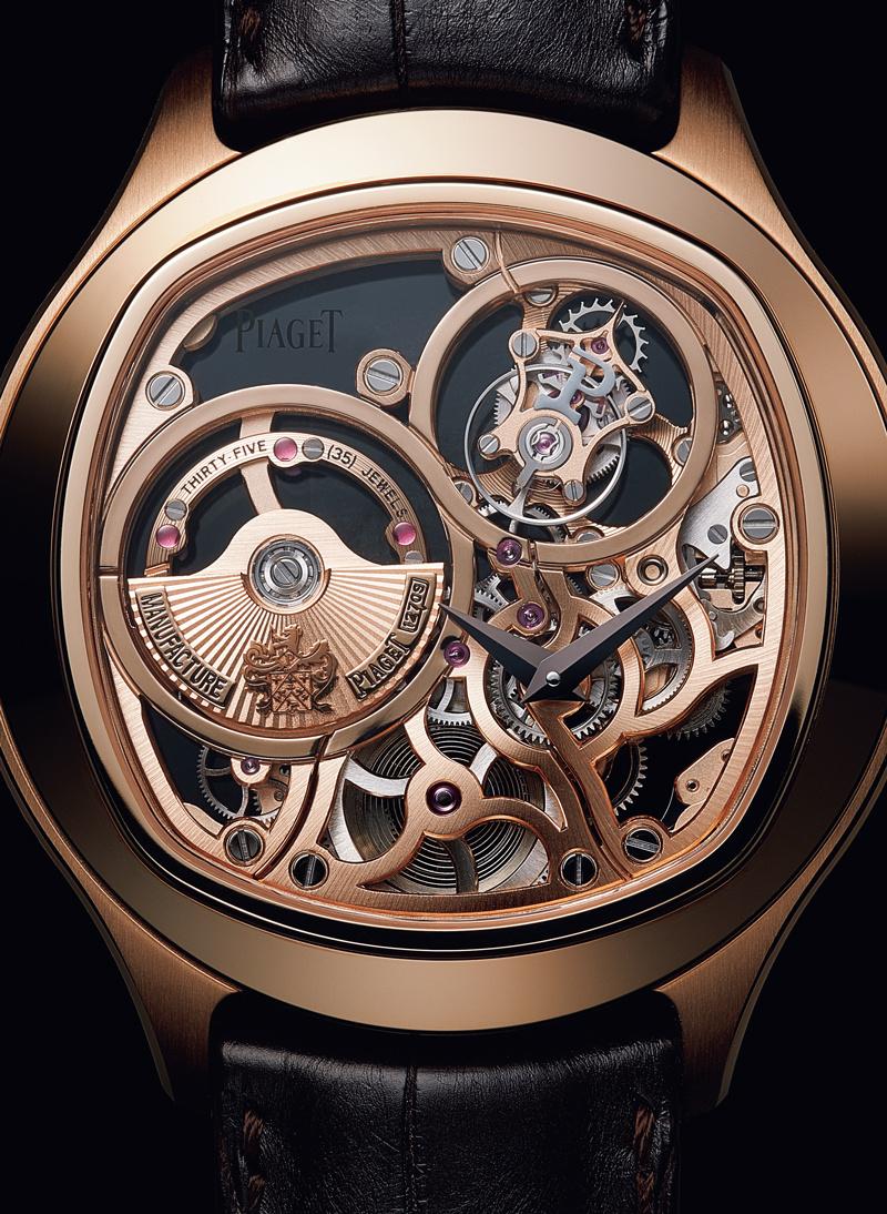 人々を魅了した金が、美しき時計の外装へと変貌。