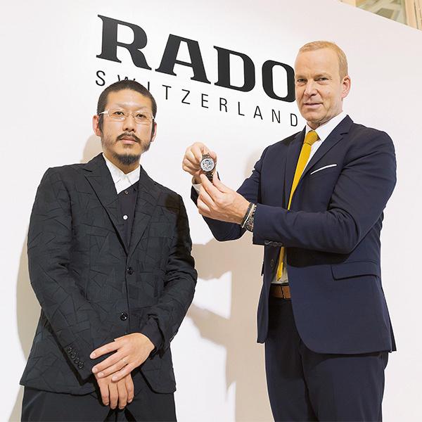 森永邦彦とラドーCEOが語る、イノベーションとビジョン