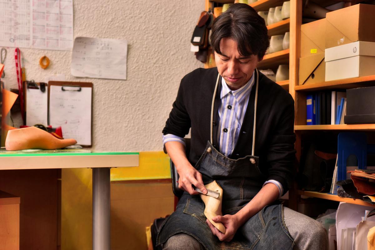 靴職人である荒井弘史さんの気分を切り替える秘訣とは……?