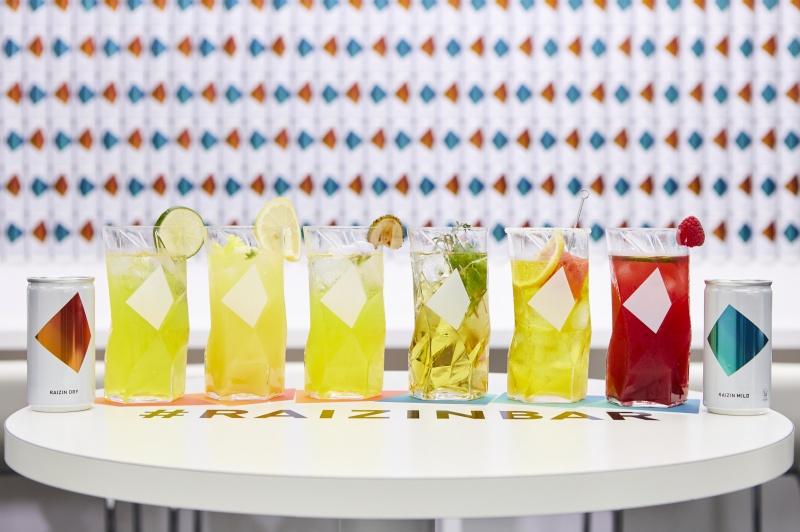 さまざまな風味が楽しめる、6種のRAIZINカクテル