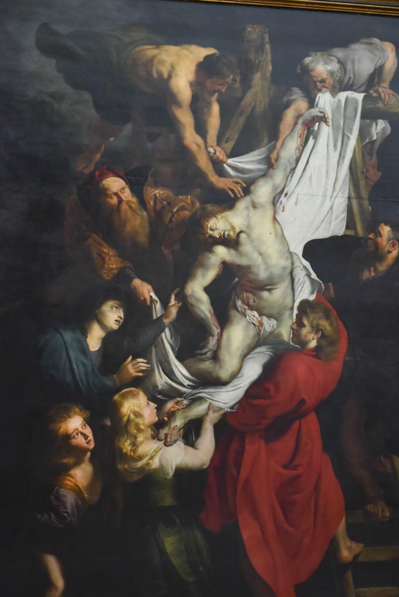 聖母大聖堂で、代表的な3つの祭壇画に出会う。