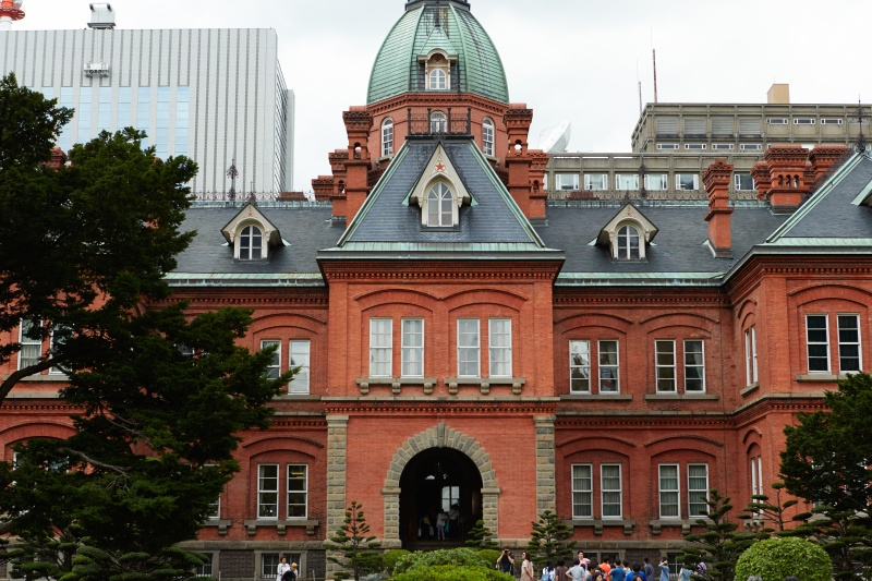 近代都市、札幌と自然のアート