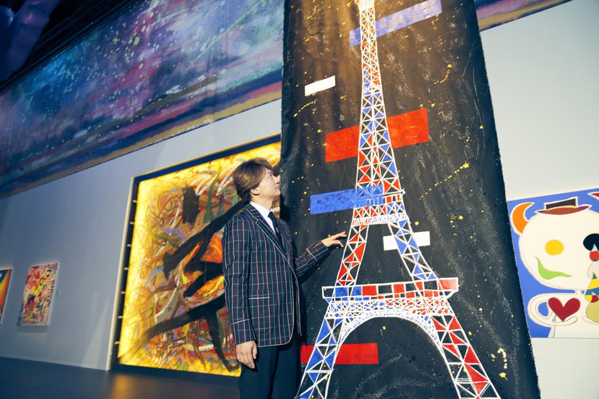 ルーヴルのプレッシャーを克服できたのは、東京ドーム公演のおかげ?