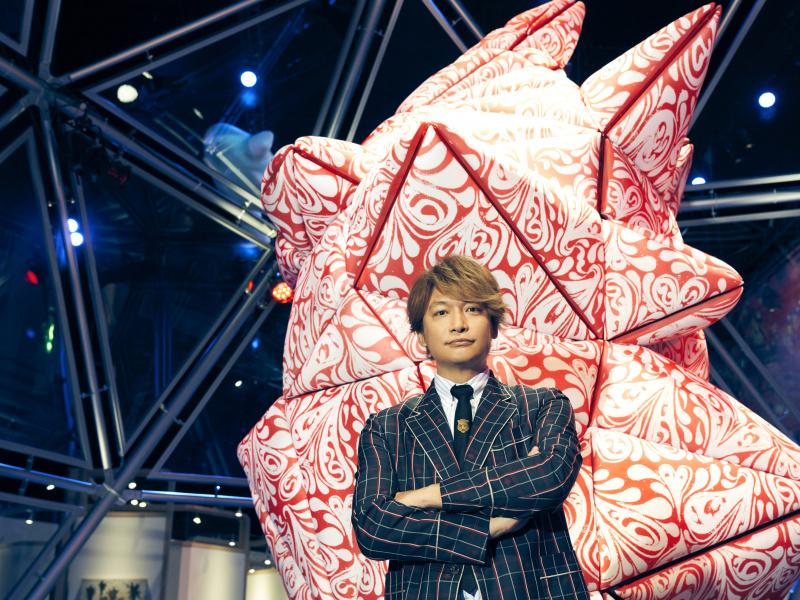 香取慎吾のすべてをアートで見せる、前代未聞の国内初個展へ潜入!