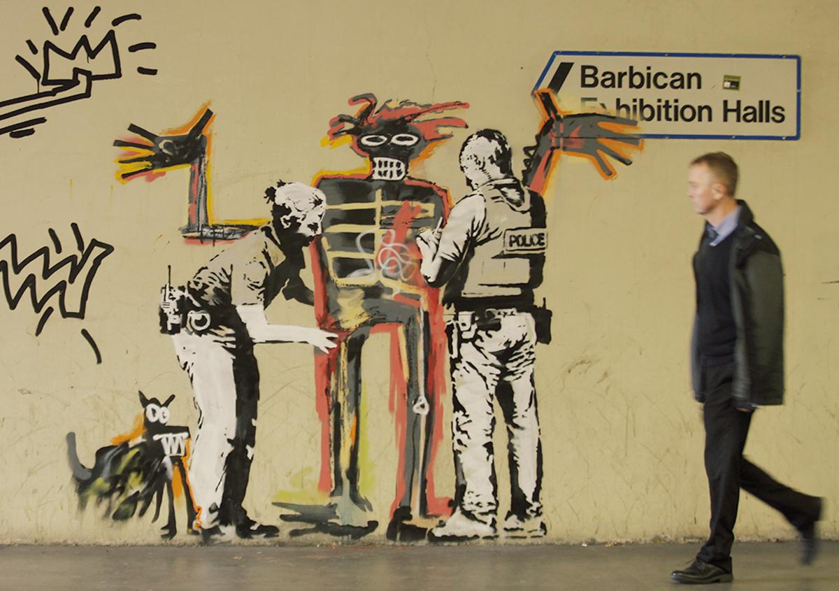 「DAY2:アブダビ~ロンドン」 街角に潜む、バンクシーを探す。
