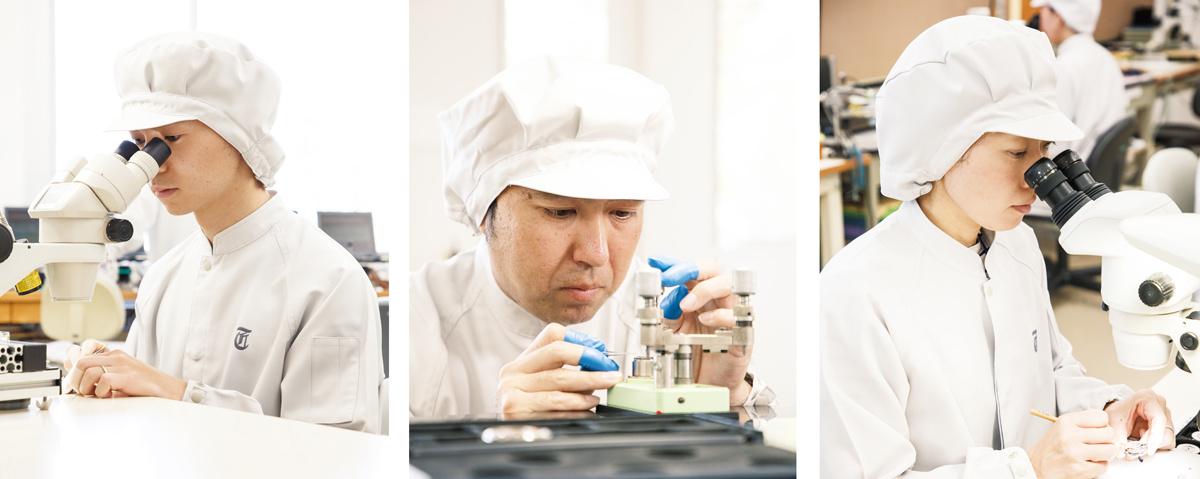 優れた腕時計を生み出し、技術を進化させるもの。
