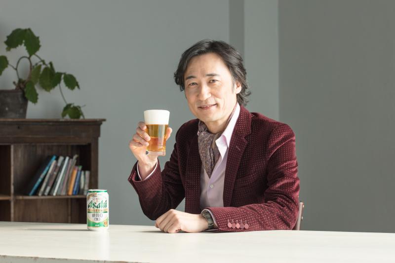 「アサヒ スタイルフリー<生>」の飛躍したおいしさを、雅楽師・東儀秀樹さんが発見する。